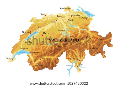 Schaffhausen Map Vector Stock Images RoyaltyFree Images Vectors
