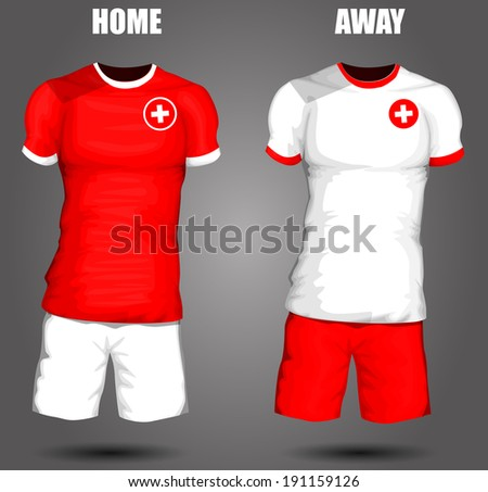 Switzerland soccer jersey