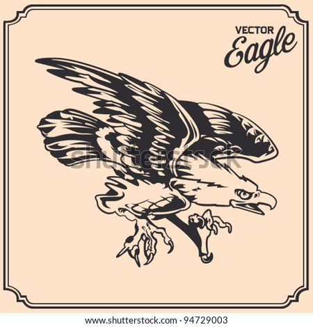 eagle tattoo stock images royalty free images vectors shutterstock. Black Bedroom Furniture Sets. Home Design Ideas