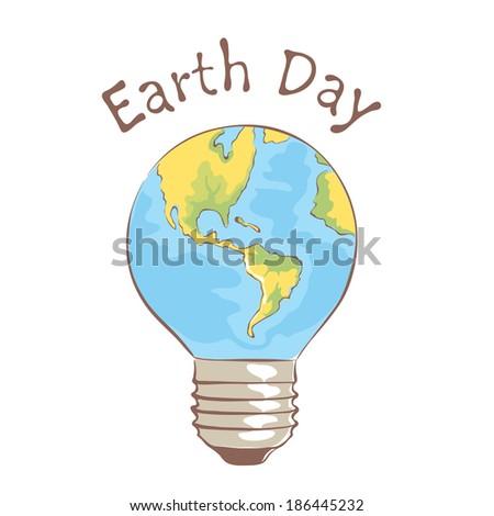 Symbol Earth Day Stock Vector 186445232 Shutterstock