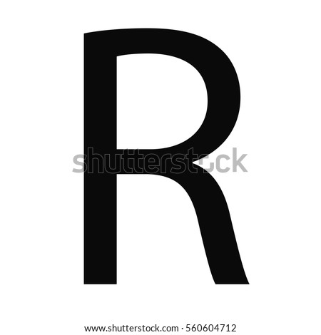 Symbol Money Sign South Africa Rand Stock Vector 2018 560604712