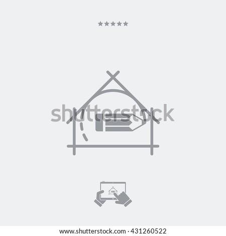 Symbol Of Architecture Concept