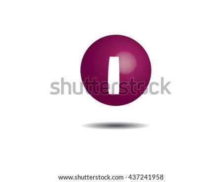 Symbol Iodine Stock Vector 437241958 Shutterstock