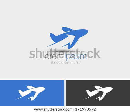 Symbol of Travel, isolated vector design - stock vector