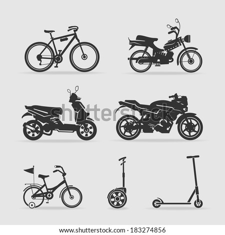 Symbol transport - stock vector