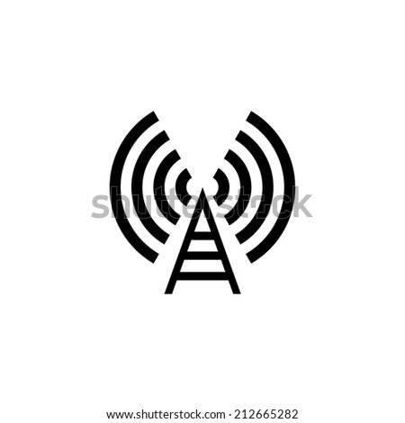 symbol wifi 3 - stock vector