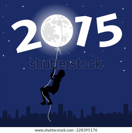 symbolic illustration for the New Year