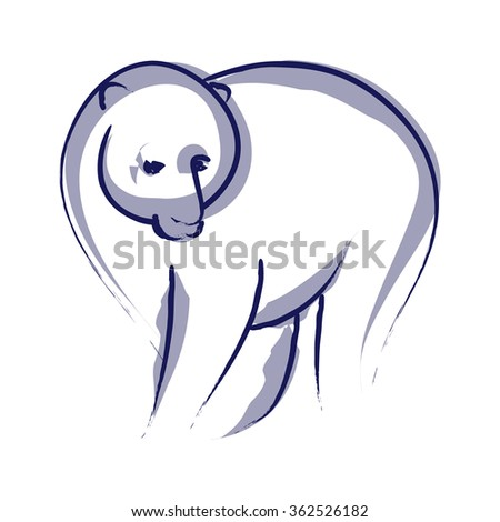 Symbolic image of a polar bear