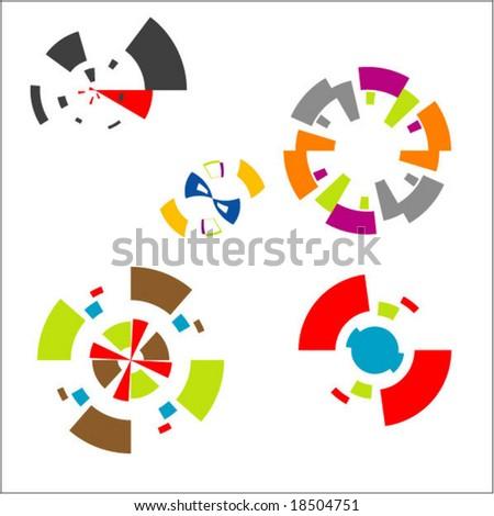 symbols & design elements - stock vector