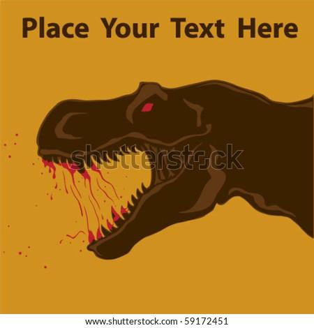 T-rex Vector Artwork - stock vector