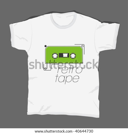 t-shirt design 10 - stock vector