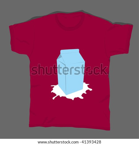 t-shirt design 14 - stock vector