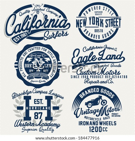 Tshirt graphics stock vector 184477916 shutterstock for Graphic designs for t shirts