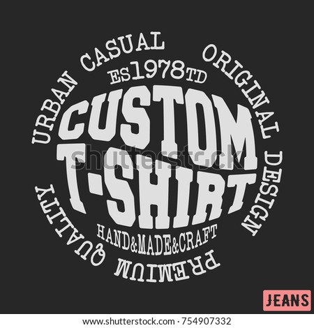 Appliques stock images royalty free images vectors for T shirt printing and labeling