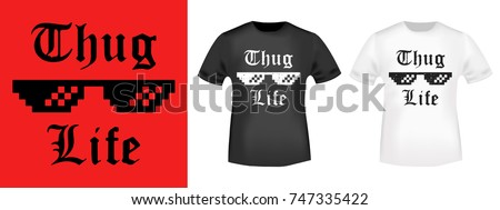 Thugs stock images royalty free images vectors for T shirt printing and labeling