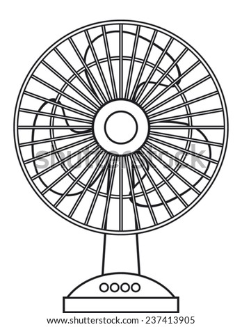 Table Fan Diagram