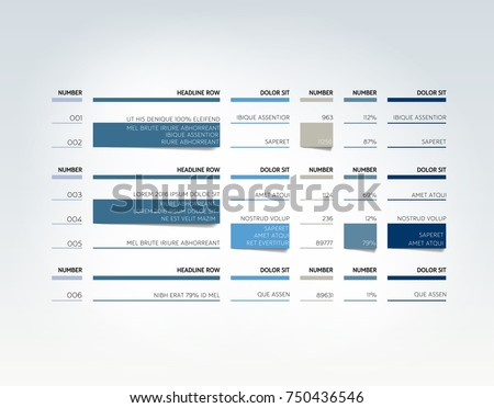 schedule table template