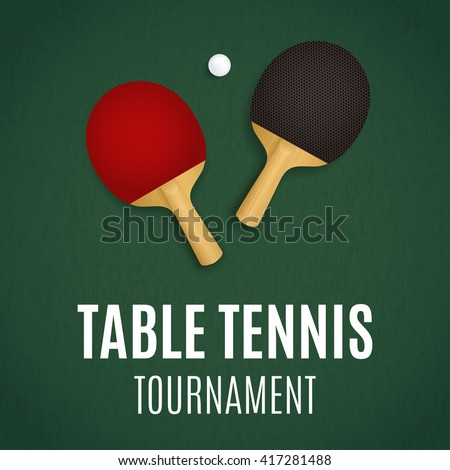 Table tennis tournament ping pong background for Table tennis tournament template