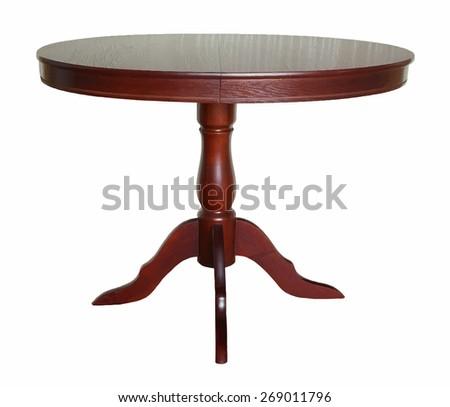 table, vector. - stock vector
