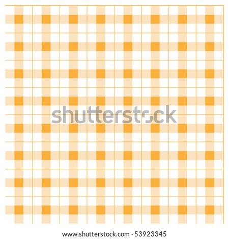 Tablecloth tartan pattern - background - eps 10 - stock vector
