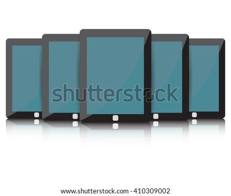 tablet Icon, tablet Icon Vector, tablet Icon Art, tablet Icon eps, tablet Icon Image, tablet Icon logo, tablet Icon Sign, tablet icon Flat, tablet Icon design, tablet icon app, tablet icon UI - stock vector