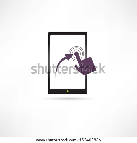 tablets icon - stock vector