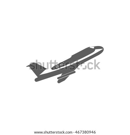 Military Combat Knife Icon Monochrome Vector Stock Vector