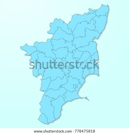 Tamil nadu blue map on degraded vectores en stock 778475818 tamil nadu blue map on degraded background vector gumiabroncs Choice Image