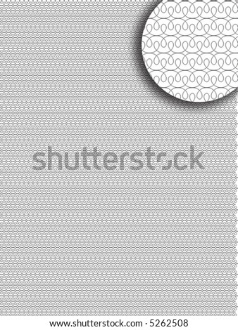 tangier grid. Line weight 0,1 mm.  Please  use PANTONE ® or 100% CMYK color - stock vector