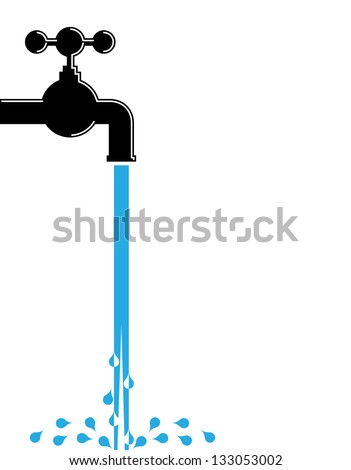 Water pipe stock photos royalty free images vectors shutterstock - How to run plumbing collection ...
