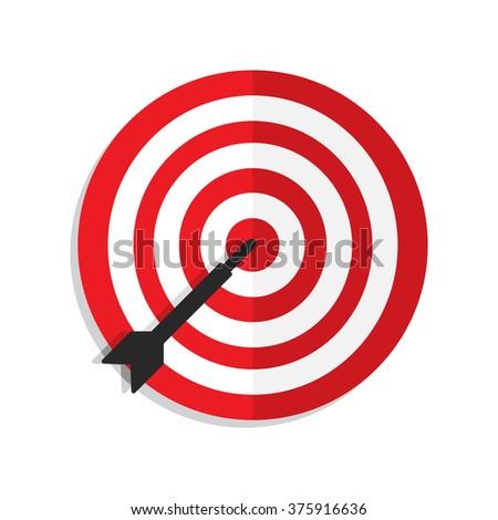 Target Aim Icon - stock vector