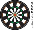 Target Board - stock vector