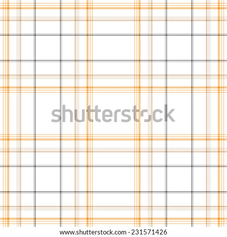 Tartan Fabric Texture - Stock Illustration