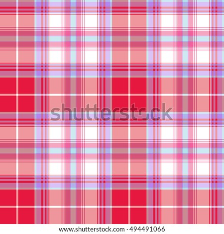 Tartan pattern. Vector colorful texture.