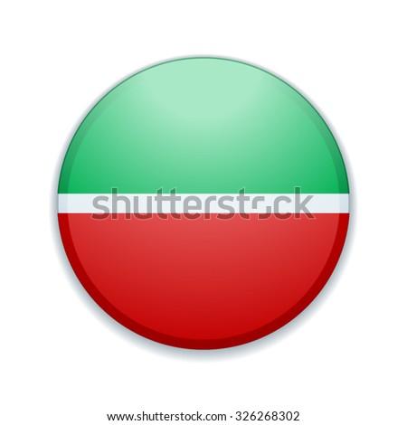 tatarstan flag button stock vector 326268302 shutterstock