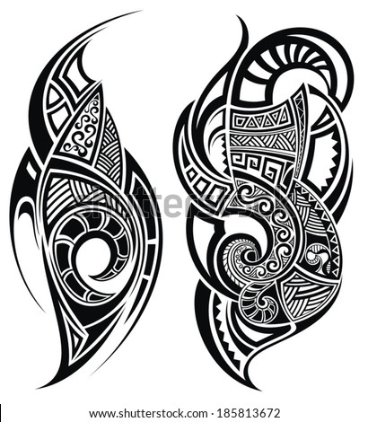 Polynesian Tattoo Images RoyaltyFree Images Vectors – Tattoo Template