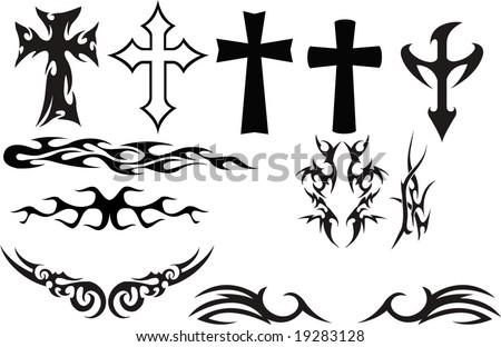 Tattoos - stock vector