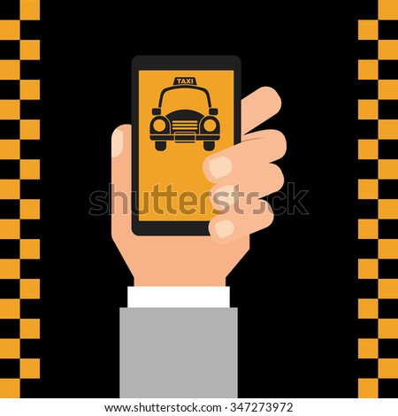 taxi service design, vector illustration eps10 graphic