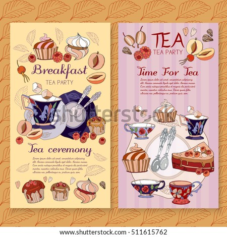 Coffee Menu Design Vintage Template Restaurant Stock Vector