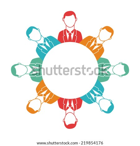teamwork graphic design , vector illustration