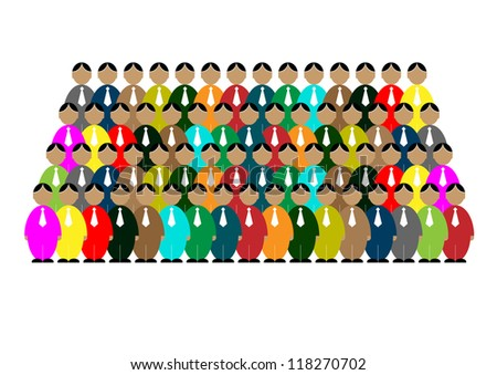 teamwork icon,people icon,business icon,vector. - stock vector