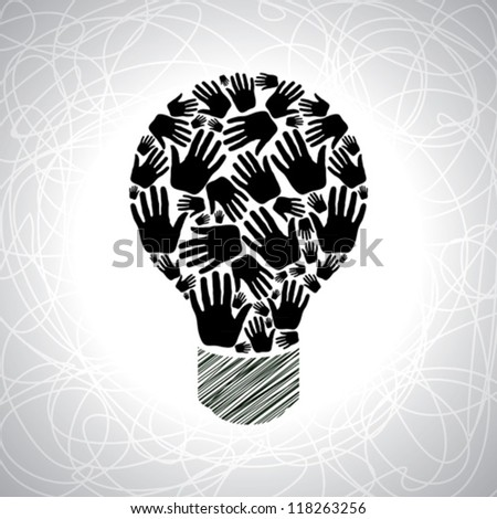 teamwork idea - stock vector