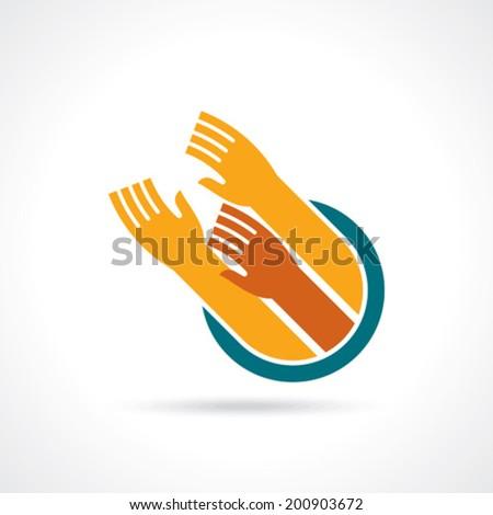 teamwork idea illustration  - stock vector