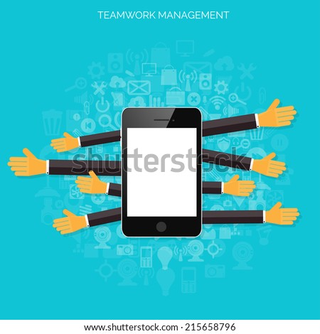 Modern Flat Design Banner Your Business Stock Vector ...