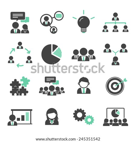 Teamwork Organization Support Strategy Community Vector Concept - stock vector