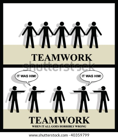 Teamwork until it all goes horribly wrong