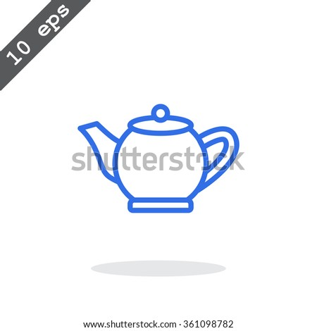 teapot tea icon