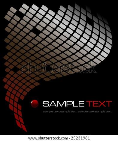 tech abstract background - vector illustration - jpeg version in my portfolio - stock vector
