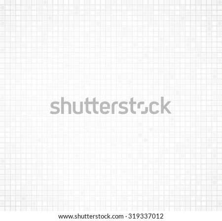 Technical grid background. Square grid background. Pattern in cells. - stock vector