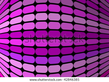 Techno pink vector background - stock vector